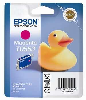 Epson t05534010 cartuccia magenta, durata 290 pagine