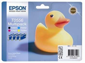 Epson t05564010 multipack 4 colori: cyano, magenta, giallo, nero