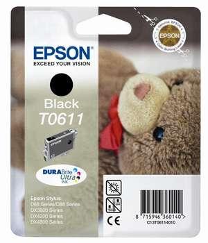 Epson t06114010 cartuccia nero durata 250 pagine