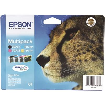 Epson t07154010 multipack nero-ciano-magenta-giallo