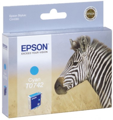 Epson t074240 cartuccia cyano, capacit� 5,4ml
