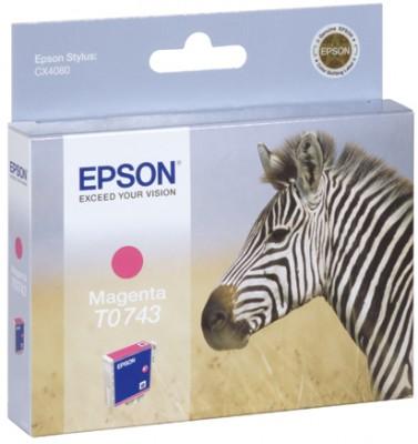 Epson t074340 cartuccia magenta, capacit� 5,4ml