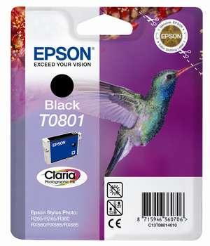 Epson t08014010 cartuccia nero 7,4 ml