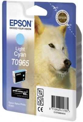 Epson t09654010 cartuccia lightcyano
