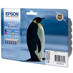 Epson t55974010 multipack bk-c-m-y-lc-lm