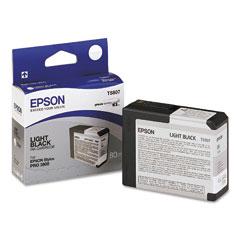 Epson t580700 cartuccia lightblack capacit� 80ml