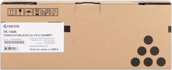kyocera tk-150k toner nero, durata 6.500 pagine