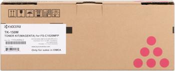 kyocera tk-150m toner magenta, durata 6.000 pagine