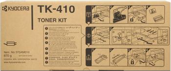 kyocera tk-410 toner originale nero, durata 15.000 pagine
