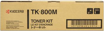 kyocera tk-800m toner magenta
