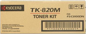 kyocera tk-820m toner magenta