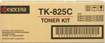 kyocera tk-825c toner cyano 7.000p