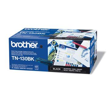 Brother tn-130bk toner nero, durata 2.500 pagine
