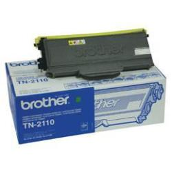 Brother tn-2110 toner originale nero, durata 1.500 pagine