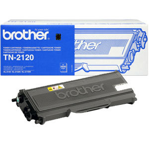 Brother tn-2120 toner originale nero, durata 2.600 pagine