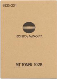 Develop 102B  toner originale nero, confezione 2 pezzi.