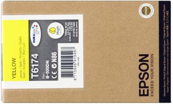 Epson T617400 Cartuccia giallo, durata 7.000 pagine