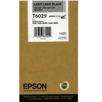 Epson T602900 Cartuccia light-light black, capacit� 110ml