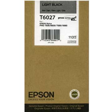 Epson T602700 cartuccia nero-chiaro, capacit� 110ml