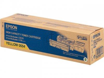 Epson C13S050554 Toner giallo, durata indicata 2.700 pagine