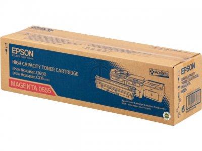 Epson C13S050555 Toner magenta, durata indicata 2.700 pagine