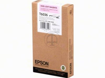 Epson T603600 Cartuccia magenta-chiaro, capacit� 220ml