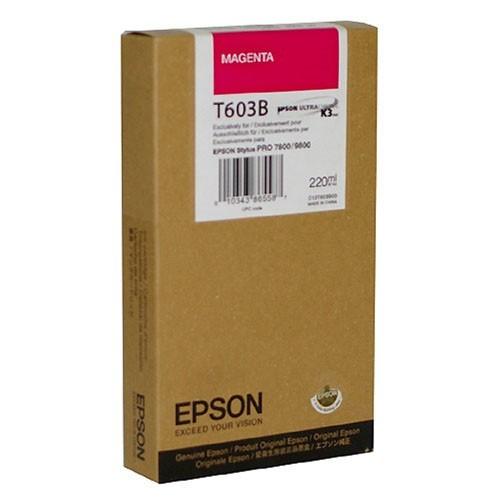 Epson T603B00 Cartuccia magenta, capacit� 220ml