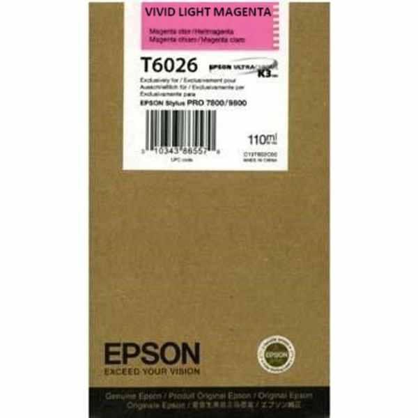Epson T602600 Cartuccia  magenta-chiaro, capacit� 110ml