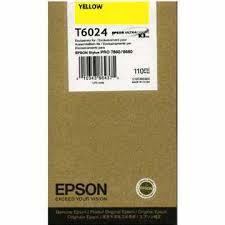 Epson T602400 Cartuccia giallo, capacit� 110ml