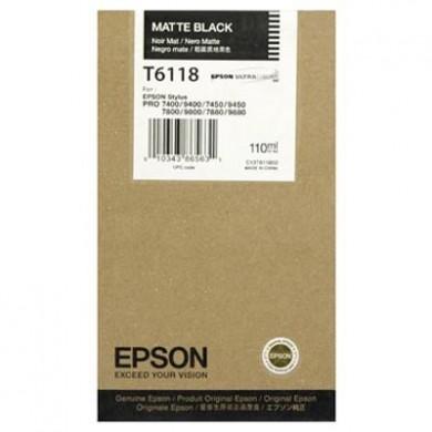 Epson T611800 Cartuccia nero-matte, capacit� 110ml