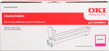 toner e cartucce - 43449014 Tamburo di stampa magenta, durata 20.000 pagine