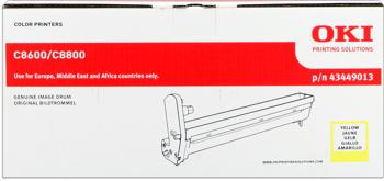 toner e cartucce - 43449013  Tamburo di stampa giallo, durata 20.000 pagine