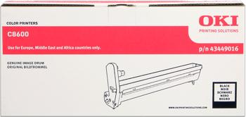 toner e cartucce - 43449016  Tamburo di stampa nero, durata 20.000 pagine