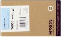 Epson T605500  Cartuccia cyano chiaro, capacit� 110ml