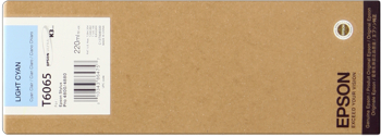 Epson T606500 Cartuccia cyano chiaro, capacit� 220ml