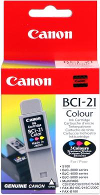 Canon bci-21c cartuccia colore