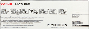 Canon C-EXV8bk  toner nero 25.000 pagine