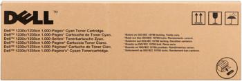 Dell 593-10494 Toner cyano 1.000p