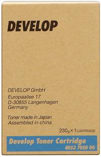 Develop 4053-7050  Toner originale cyano, durata indicata 11.500 pagine