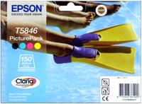 Epson T58464010  cartuccia 4 colori e 150 fogli