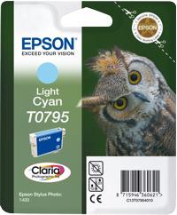 Epson T07954010 Cartuccia lightcyano 11ml.
