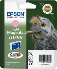 Epson T07964010 Cartuccia magenta chiaro 11ml.