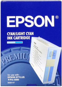 Epson S020147 Cartuccia cyano-chiaro 110 ml