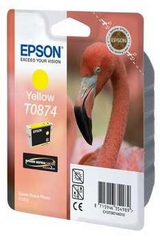 Epson T08744010 Cartuccia giallo, capacit� 11.4ml