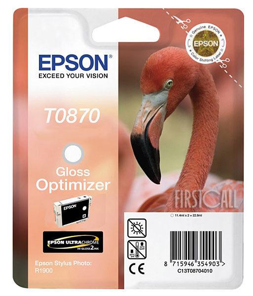 Epson T08704010 Cartuccia trasparente, capacit� 11.4ml