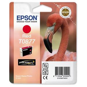 Epson T08774010 Cartuccia red, capacit� 11.4ml