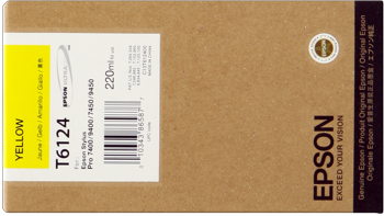 Epson T612400 Cartuccia giallo, capacit� 220ml