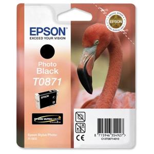 Epson T08714010 Cartuccia photo black, capacit� 11.4ml