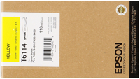Epson T611400 Cartuccia giallo, capacit� 110ml