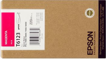 Epson T612300 Cartuccia magenta, capacit� 220ml